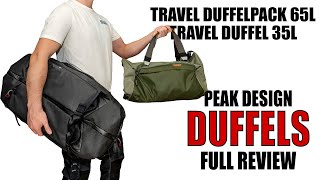 Peak Design Travel Duffel 35L & Travel Duffelpack 65L - In Depth Review