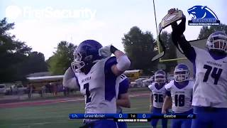 Greenbrier Panther Football vs Beebe