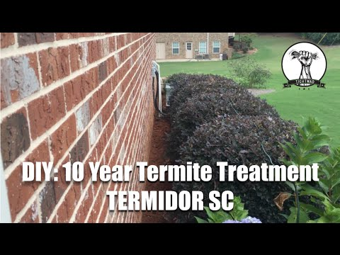 Video DIY: 10 Year Termite and Ant Treatment with Termidor - Kill and Prevent Termites and Ants