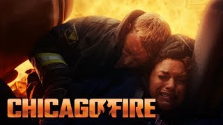 Casey Saves Dawson From Inferno | Chicago Fire