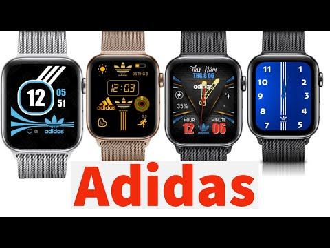 20 Mặt Đồng Hồ Adidas Cho Apple Watch ( 20 Clock Face Adidas For Apple Watch ) | Clockology