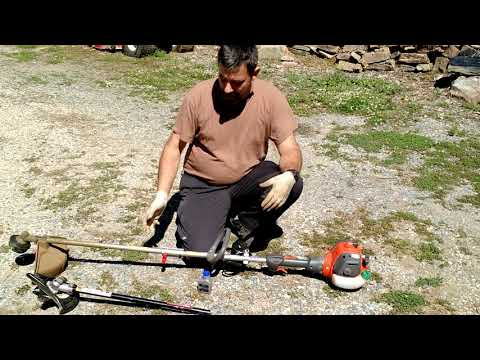 Husqvarna 128LD Weed Whacker 2 year Review And Demonstration