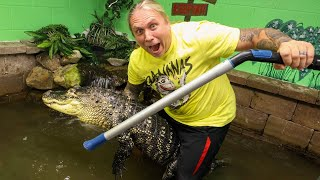 MY GIANT PET ALLIGATOR NEEDS HELP!! LET'S DO IT! | BRIAN BARCZYK