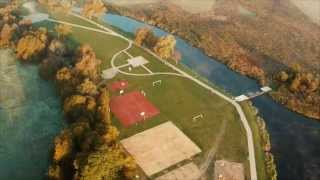 preview picture of video 'Bulwary nad rzeką Supraśl'