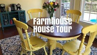 FARMHOUSE STYLE HOME TOUR   SHABBY CHIC  2018