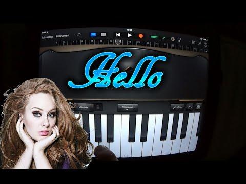 Adele – Hello (GARAGEBAND TUTORIAL)