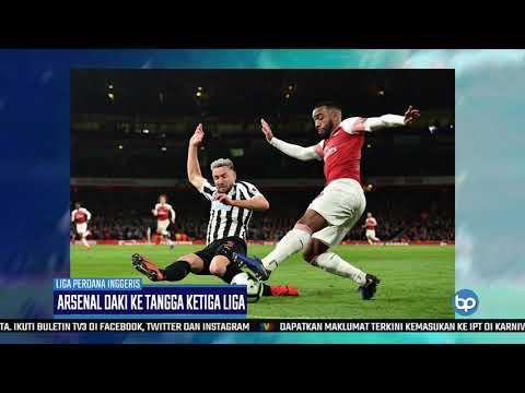 Arsenal Naik Ke Tangga Ketiga Liga