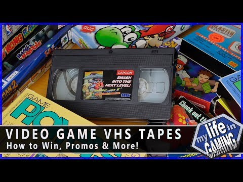 Video Game VHS Tapes :: Video Showcase - MY LIFE IN GAMING