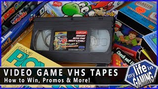 Video Game VHS Tapes - How to Win, Promos & More