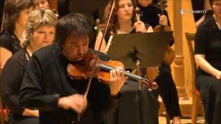 Sergej Krylov plays Shostakovich-violin concerto №1(Cadenza IV.Burlesque) UPO, conductor-Dmity Liss