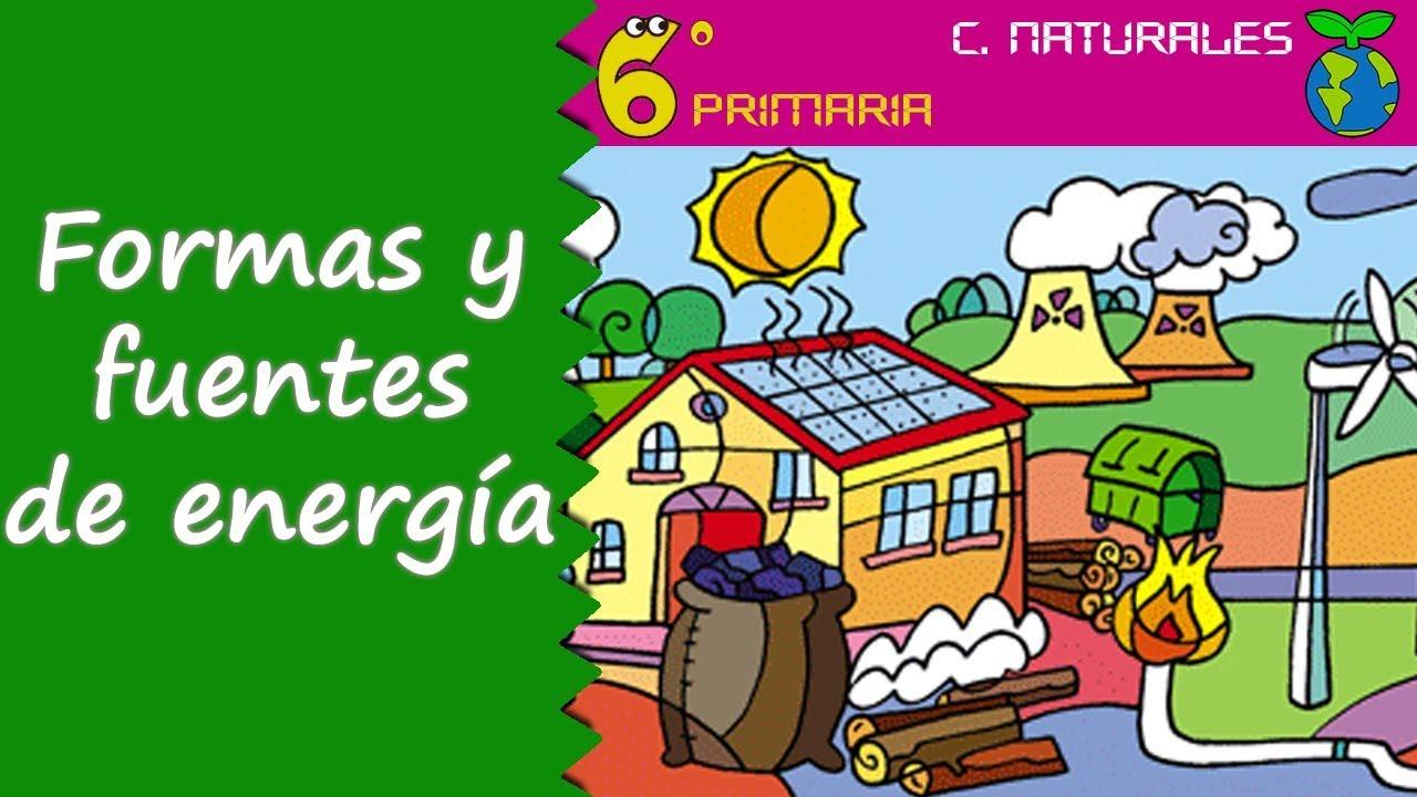 Formas y fuentes de energía. Naturales, 6º Primaria