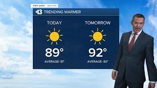 13 First Alert Las Vegas morning forecast | October 16, 2020