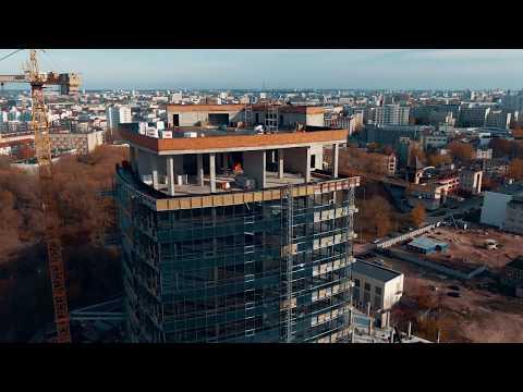 Видео Офис 300 м2 и больше (класс A, B+) от застройщика в бизнес центре «Имперский»