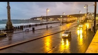 preview picture of video 'Stormy weather - Douglas IOM - 15th of October 2014'