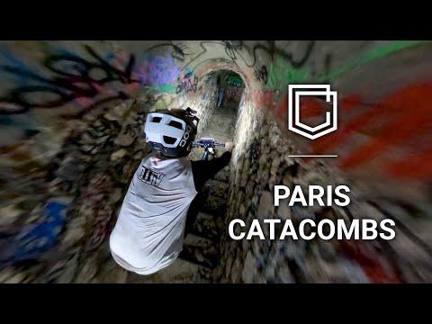 Exploring Catacombs in Paris via MTB