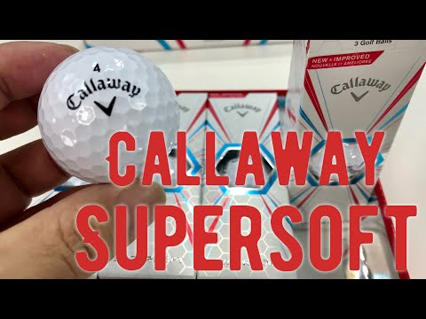 Callaway Supersoft Golf Balls (2017) First Look