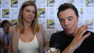 Seth MacFarlane and Adrianne Palicki Talk Influence Behind The Orville