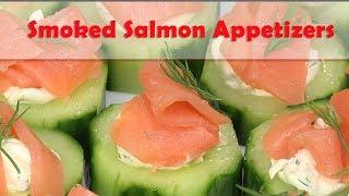 Smoked Salmon Appetizers