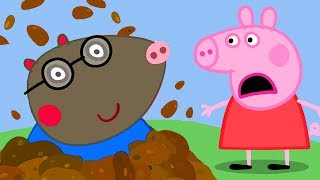 Peppa Pig English Episodes | Peppa Pig Celebrates Parents' Day With Molly Mole | Peppa Pig Official