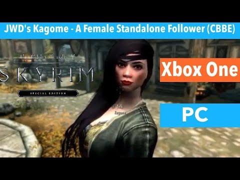 Skyrim SE Xbox One/PC Mods|JWD's Kagome - A Female Standalone