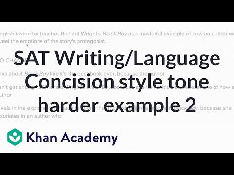 Argumentative writing style.