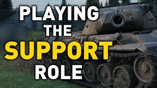 Playing the Support Role in World of Tanks!