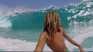BIG & CRAZY SHOREBREAK!! Huge Waves With GoPro! | JOOGSQUAD PPJT
