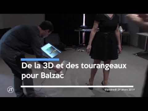 Isabelle Poupin - Balzac - Tours