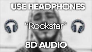 Post Malone – Rockstar (8D Audio)