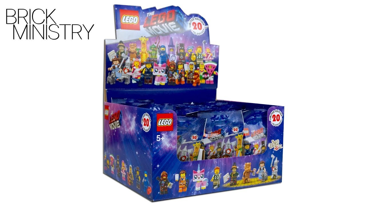 ALL LEGO Minifigures 71023 ● The LEGO Movie 2 ● 360' Review [71023]