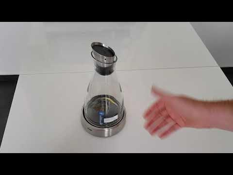 """Vorstellung: EMSA Kühlkaraffe """"Flow"""" 1 Liter mit Kühlfunktion und Edelstahlausgießer"""