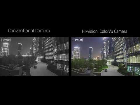 24 Hours Image Performance By Hikvision ColorVu Camera
