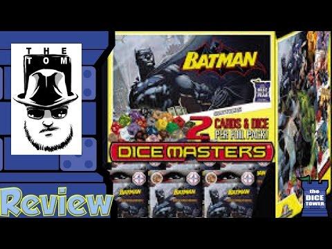 DC Comics Dice Masters: Batman Review - with Tom Vasel