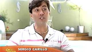 Sérgio Carillo no SBT