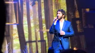 Josh Groban Try To Remember DC 09142015