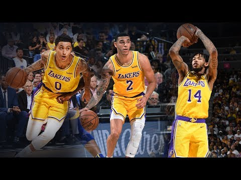 The Best of Ingram, Kuzma, and Ball in Lakers Victory Over Warriors | 2018 NBA Preseason