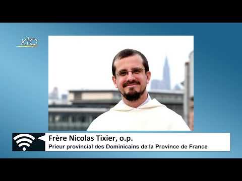 Frère Nicolas Texier : nouveau prieur provincial de la Province de France, par téléphone