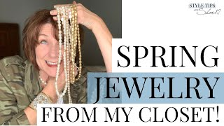 Spring Jewelry Trends From My Closet!