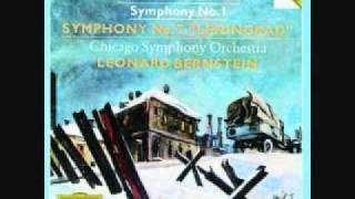 Shostakovich 7-Ending- Chicago Symphony Orchestra-Leonard Bernstein