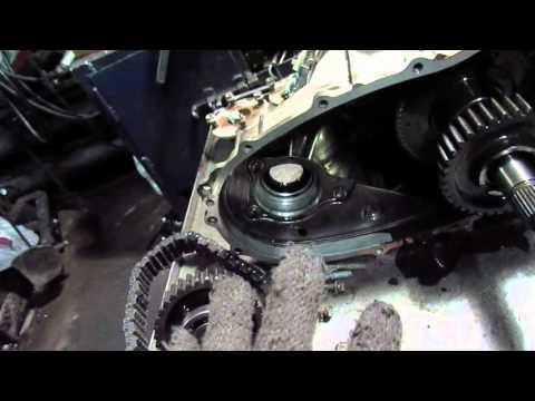 Тойота Прадо ремонт раздатки сокращаем  цепь.