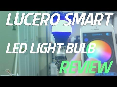 Lucero Smart LED Bluetooth A19 Light Bulb REVIEW