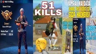 150 KD !!! | AIMBOT + WALLHACK + SPEED HACK + FLY HACK | PUBG MOBILE