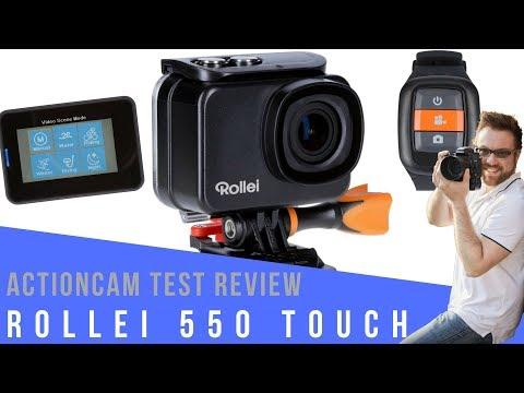 ROLLEI 550 TOUCH TEST I Die BESTE Budget Actioncam ? Test mit viel Bildmaterial