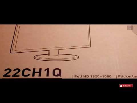 Aopen 22CH1Q 21.5-inch Led Monitor Unboxing & Review