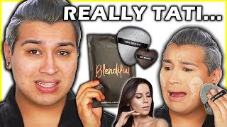 UNBIASED TATI BEAUTY BLENDIFUL REVIEW... Tested on OILY ACNE skin!