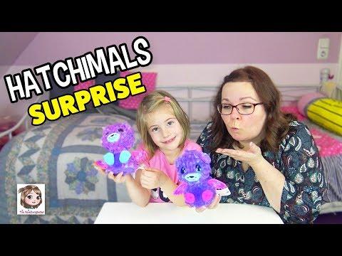 HATCHIMALS SURPRISE 🥚 Es schlüpfen Zwillinge! 🐱🐱 2 in 1 magisches Überraschungsei