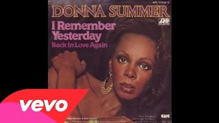 Donna Summer - I Remember Yesterday (Audio)