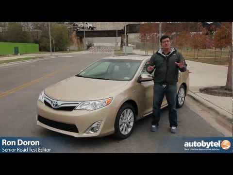 2012 Toyota Camry Hybrid: Video Road Test and Review