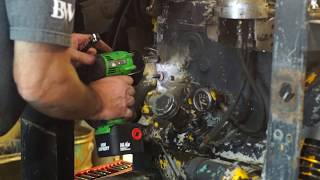 Single Wire Alternator Installation and Generator removal on Lincoln Arc Welder