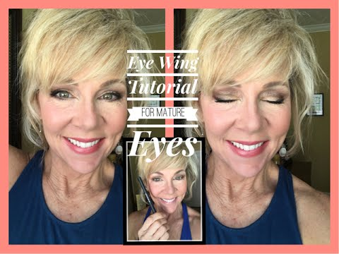 Mature Eyes Winged Eye Liner Tutorial | Slapout Lash Girl